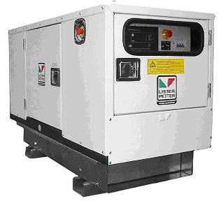 Электрогенератор LLR шумопонижающего исполнения