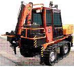 Самоходный ремонтный модуль на базе минитрактора